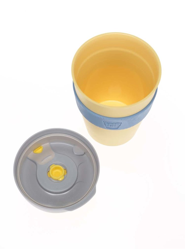 Cana mare de calatorie KeepCup Lemon Large
