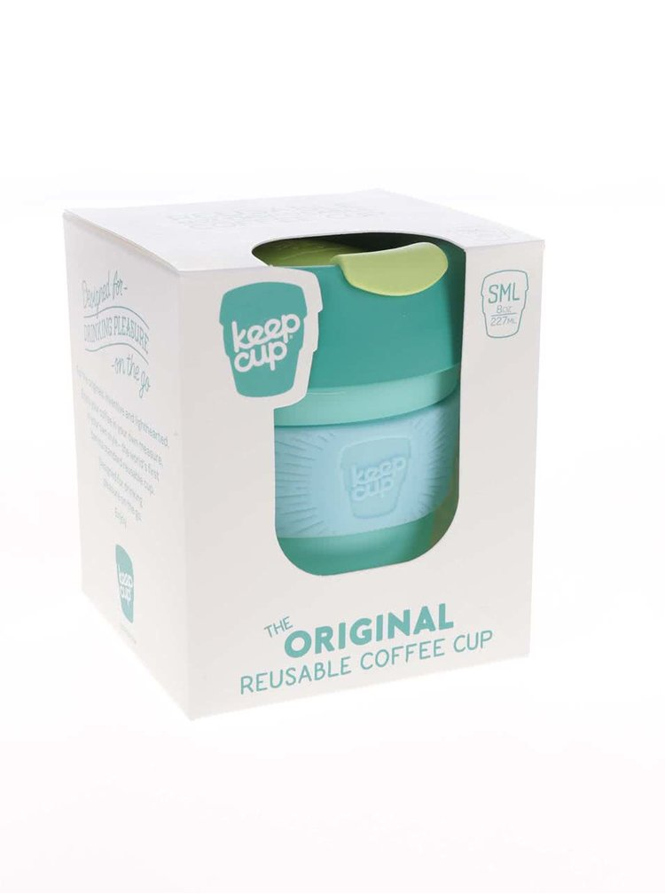 Dizajnový cestovný hrnček KeepCup Cucumber Small