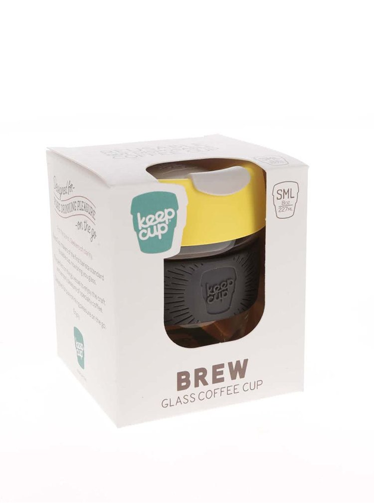 Cană mică de călătorie KeepCup Brew Honey