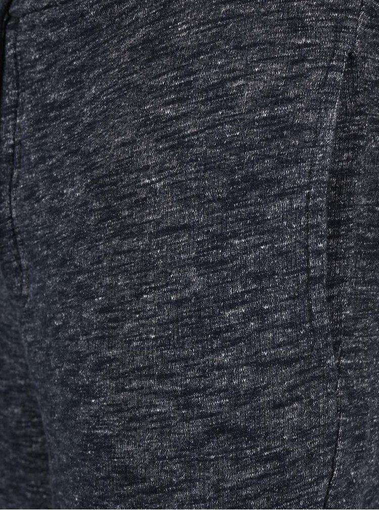 Tmavě modré teplákové kraťasy Selected Homme Bowen