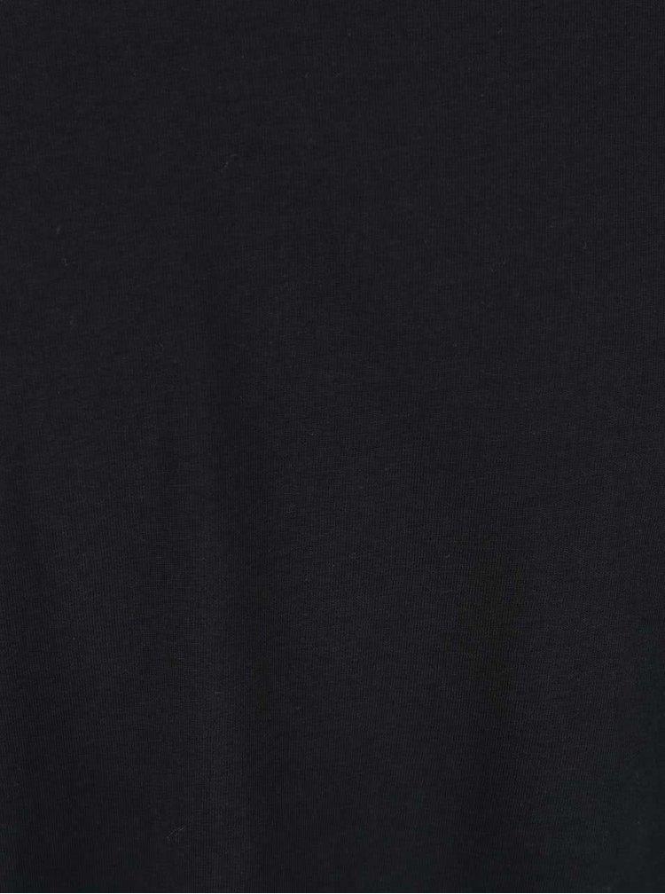Tricou Selected Homme Dean negru