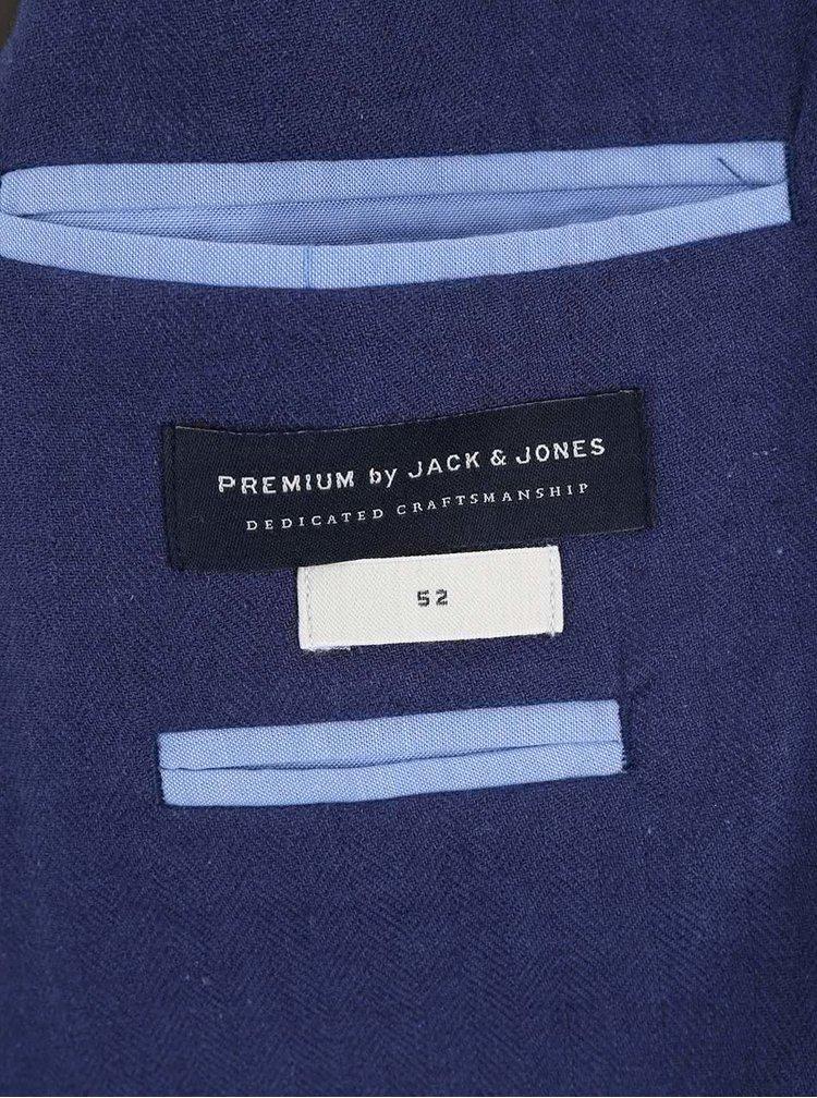 Tmavomodré sako Jack & Jones Harry