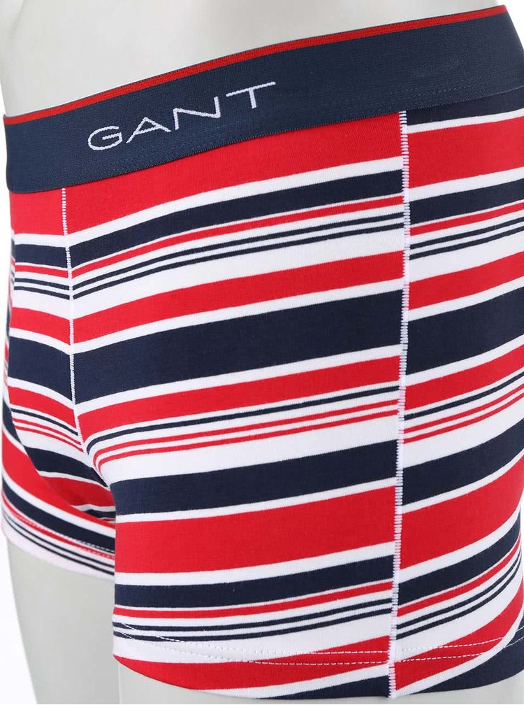 Barevné pruhované boxerky GANT