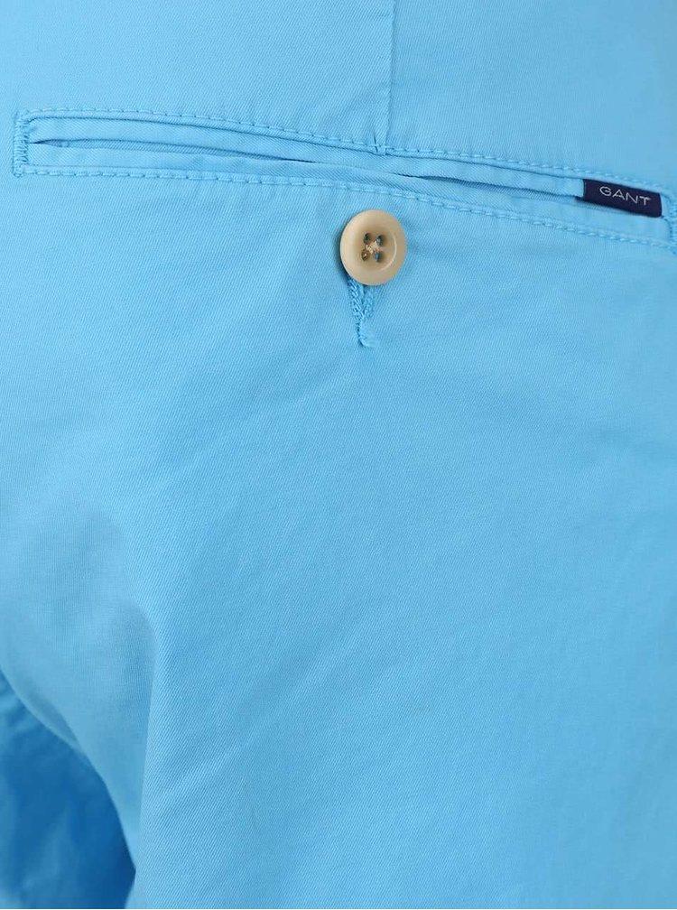 Světle modré pánské chino kalhoty GANT