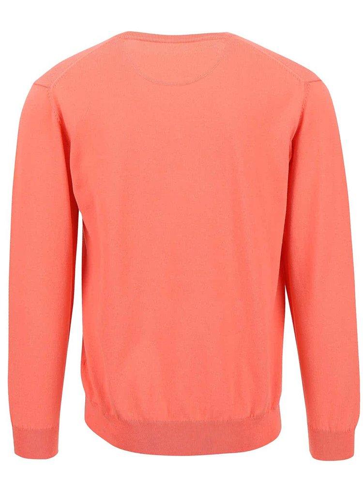 Koralový pánsky sveter GANT