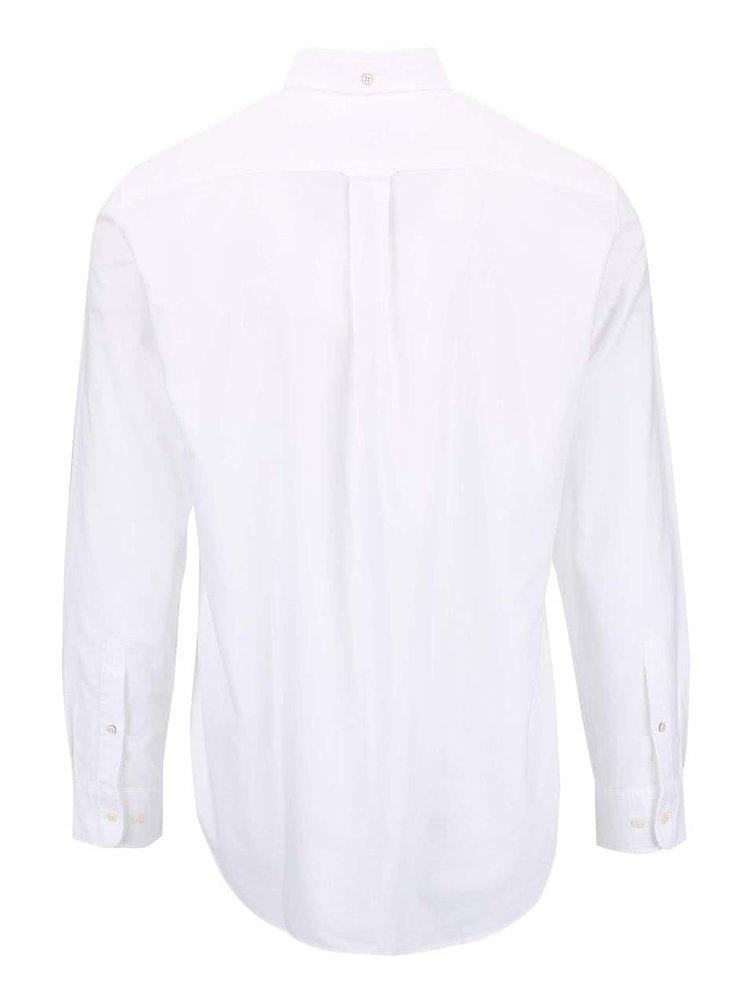 Biela pánska Regular Fit košeľa GANT