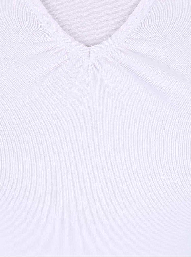 Biele dámske tričko Broadway Dana