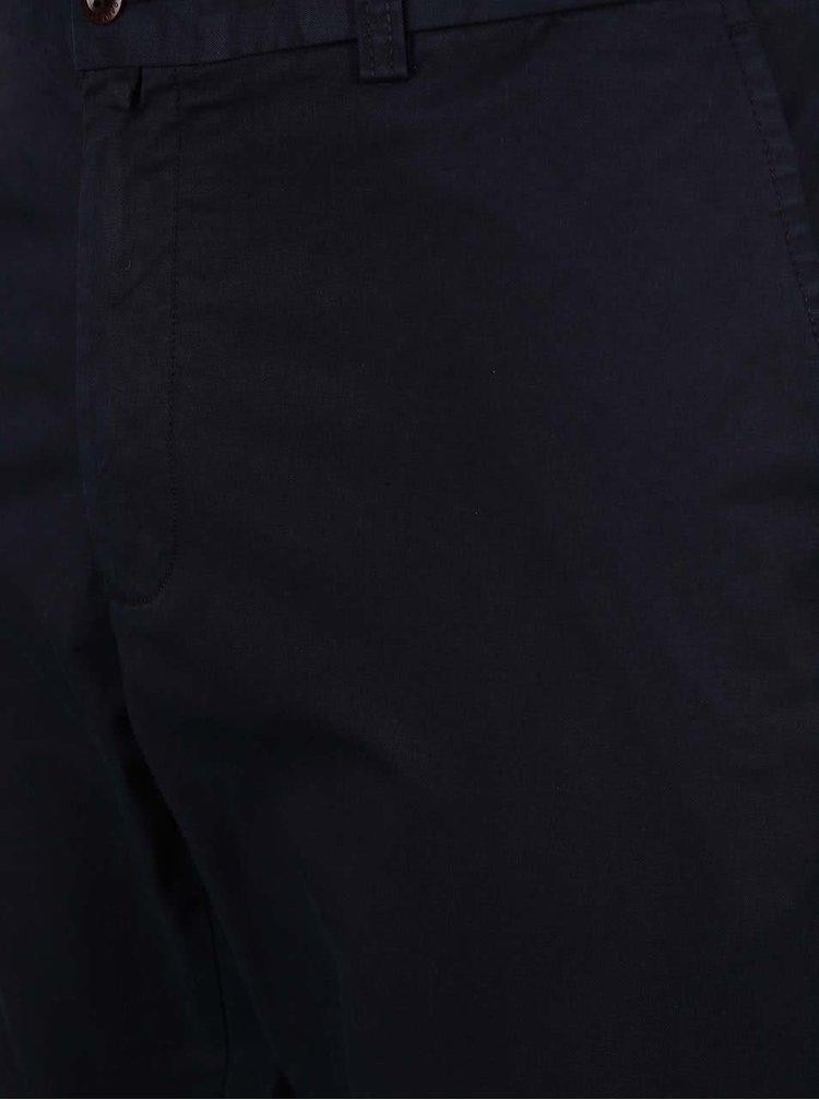 Tmavomodré pánske chino nohavice GANT