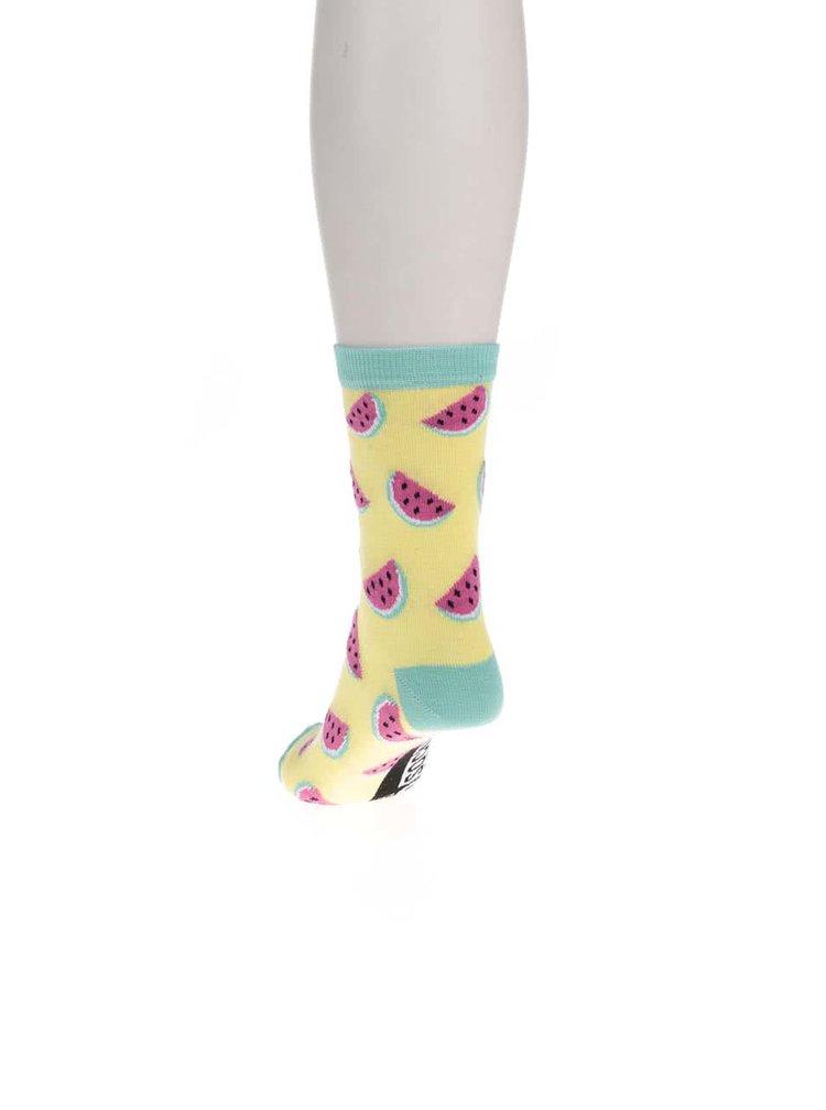 Sada šesti dámských ponožek v modré barvě Oddsocks Tropicool
