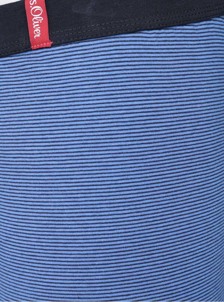 Set chiloti 2 perechi s.Oliver negru/albastru