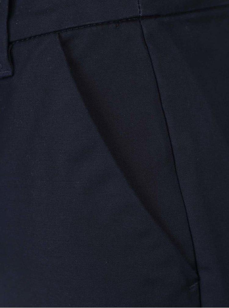 Tmavě modré dámské 7/8 Slim Fit kalhoty s.Oliver