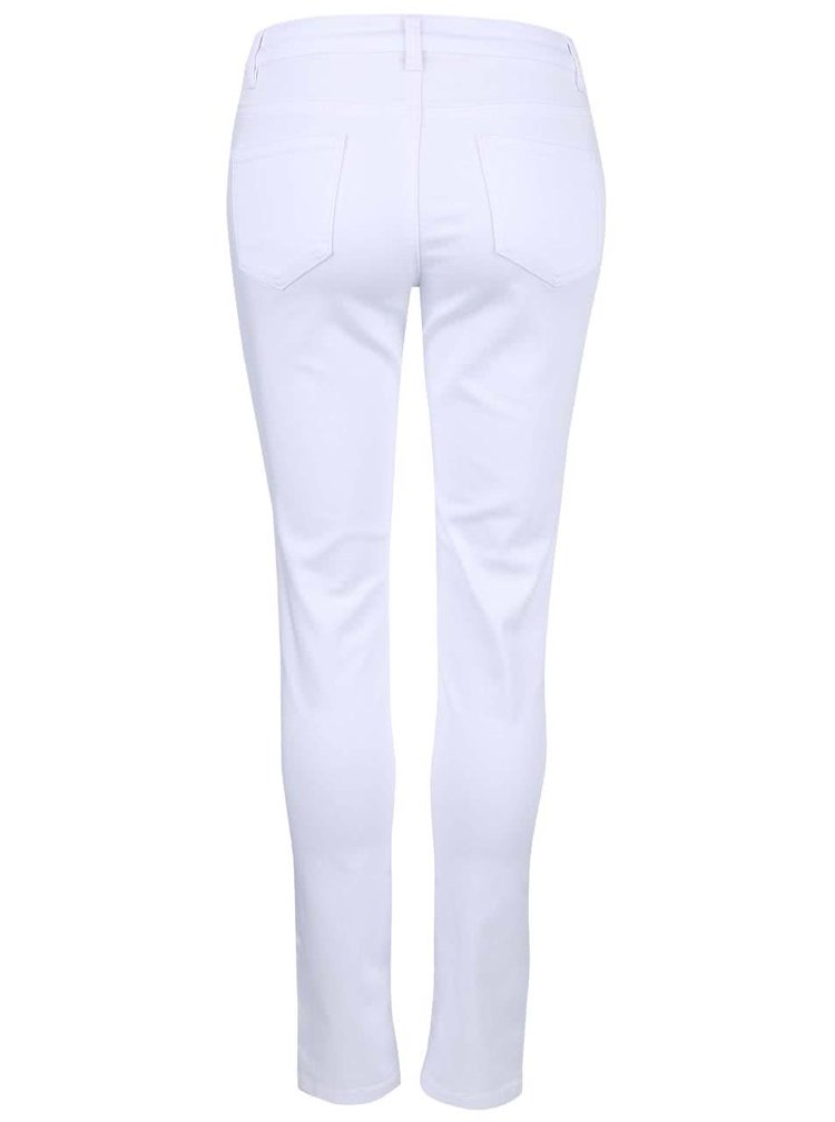 Pantaloni skinny Broadway Jane albi