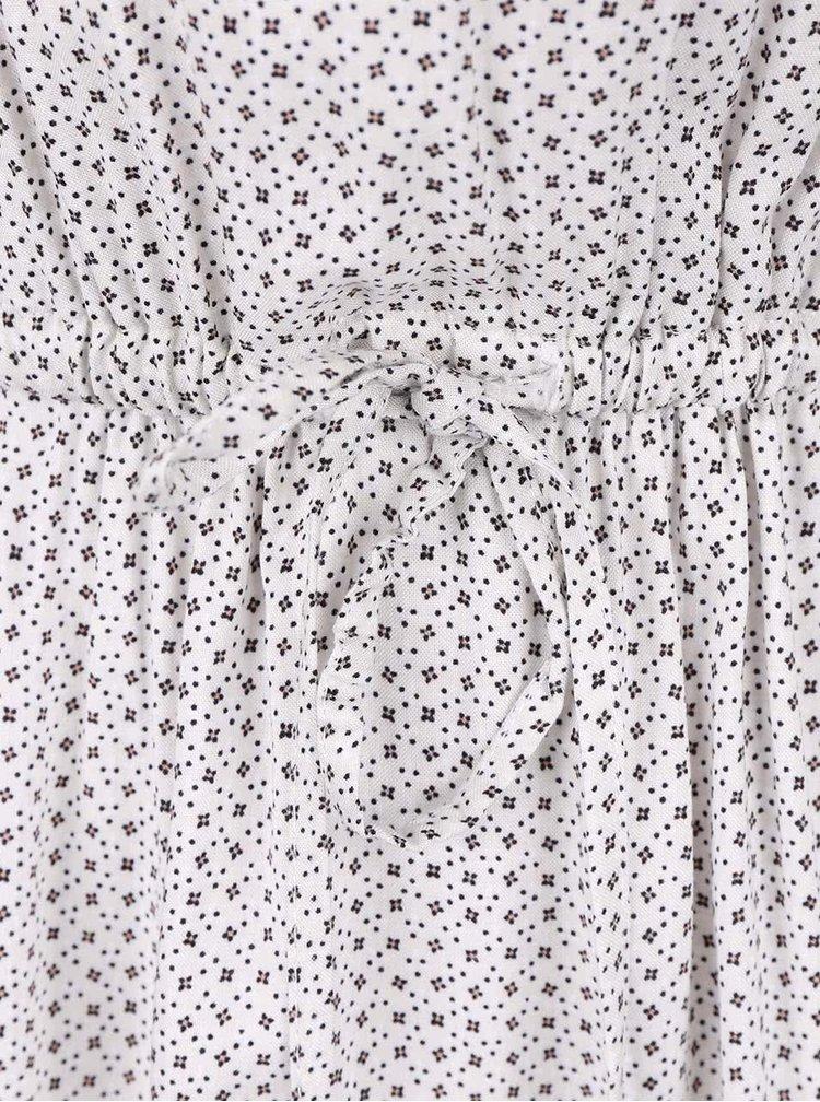 Krémové vzorované šaty Broadway Fannie