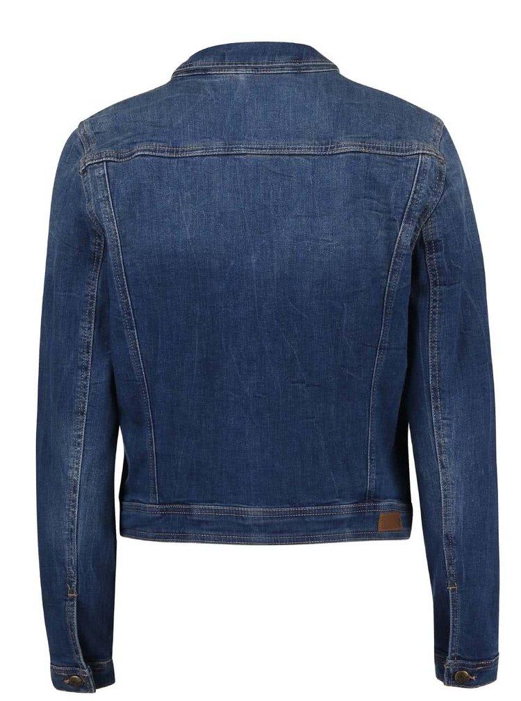 Jacheta s.Oliver din denim albastra