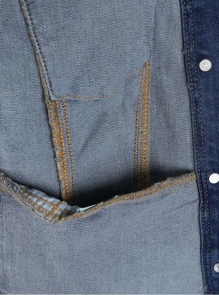 Modrá dámská kratší džínová bunda s.Oliver