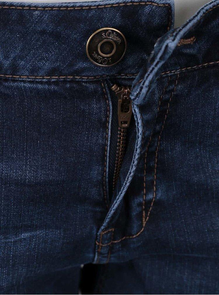 Blugi skinny s.Oliver II. albastru inchis