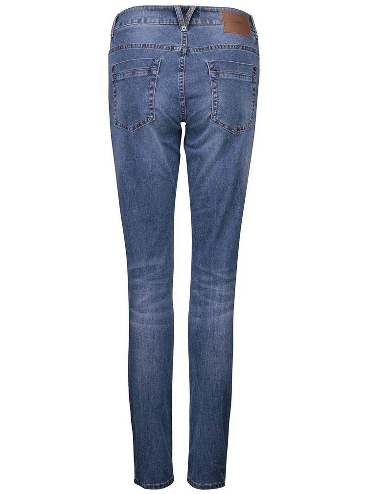 Modré dámské skinny džíny s.Oliver