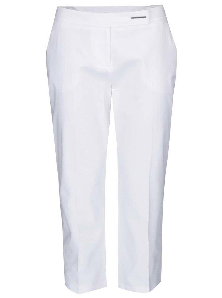 Biele osminové nohavice Dorothy Perkins