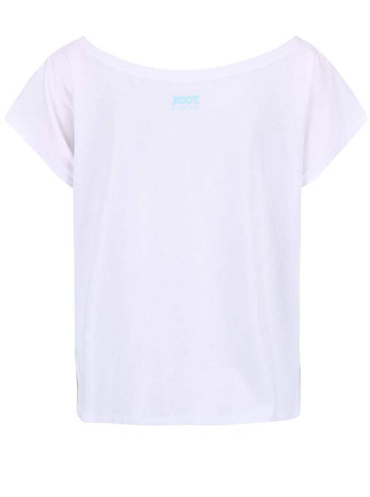 Tricou de dama cu print barcute ZOOT Original alb