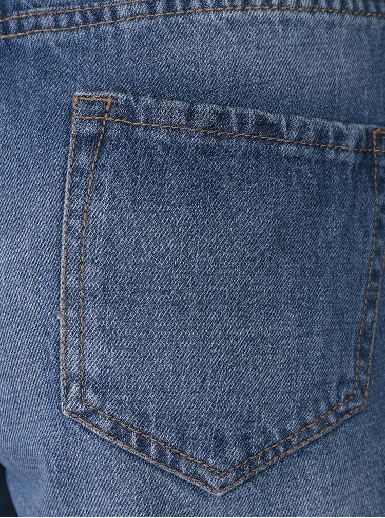 Modré džínové kraťasy Dorothy Perkins