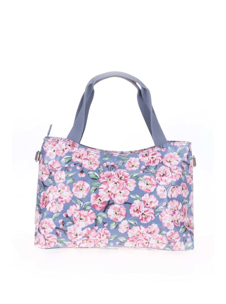Modrá květovaná kabelka Cath Kidston