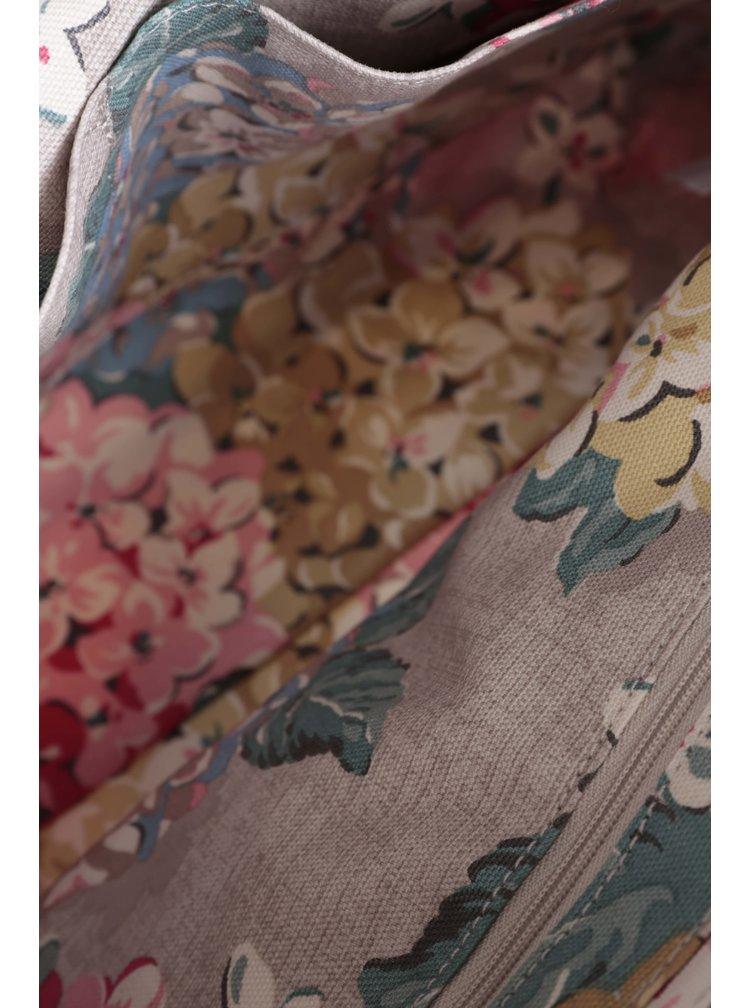Béžová kabelka s motivem květů Cath Kidston