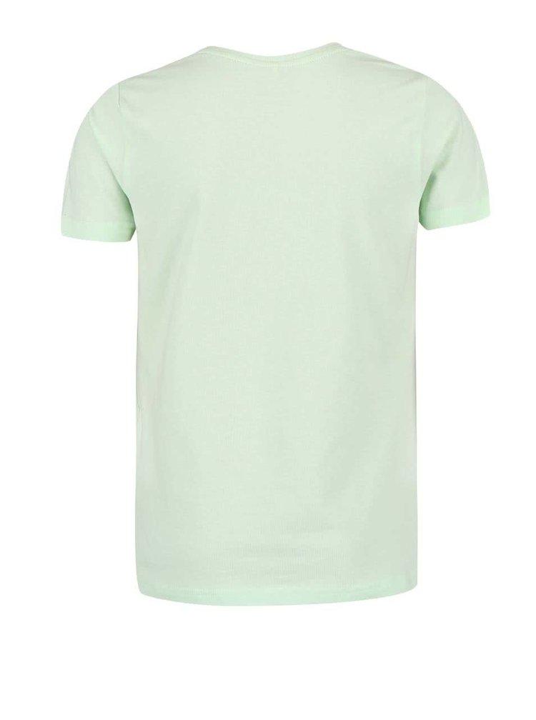 Světle zelené holčičí tričko name it Inara