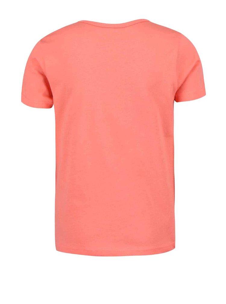 Růžové holčičí tričko name it Veen