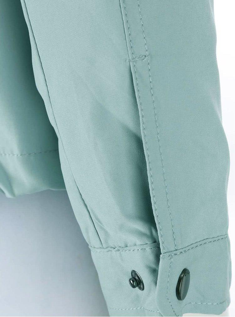 Svetlomodrá kratšia bunda ONLY Skylar