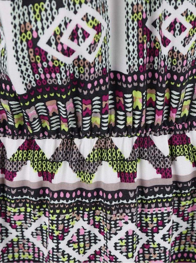 Barevné květované šaty VERO MODA Super