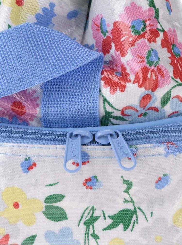 Bielo-modrá kvetovaná taška Cath Kidston