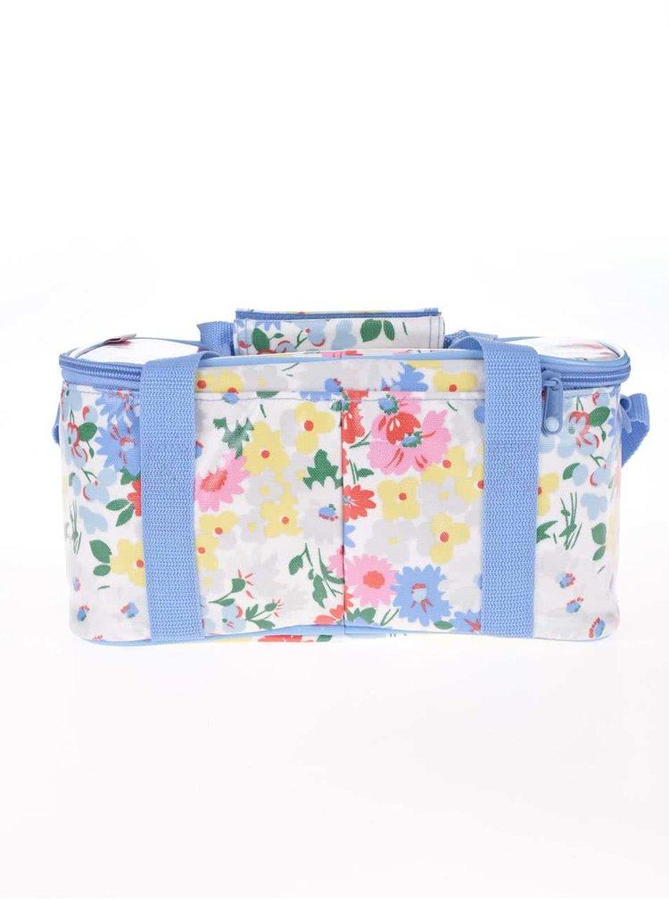 Modro-bílá květovaná chladící taška Cath Kidston