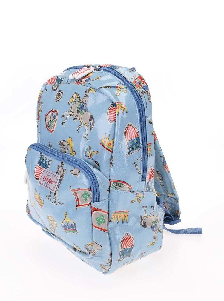 Modrý dětský batoh s rytíři Cath Kidston