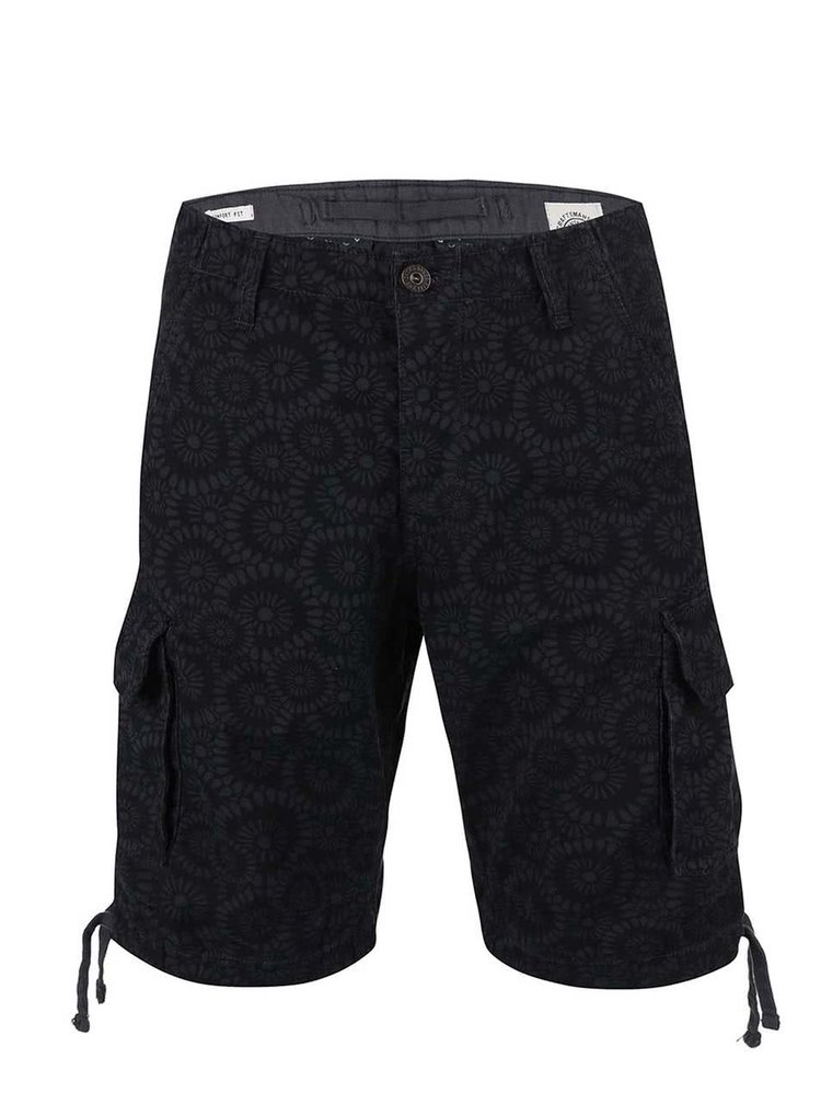 Pantaloni scurți Jack&Jones gri cu model