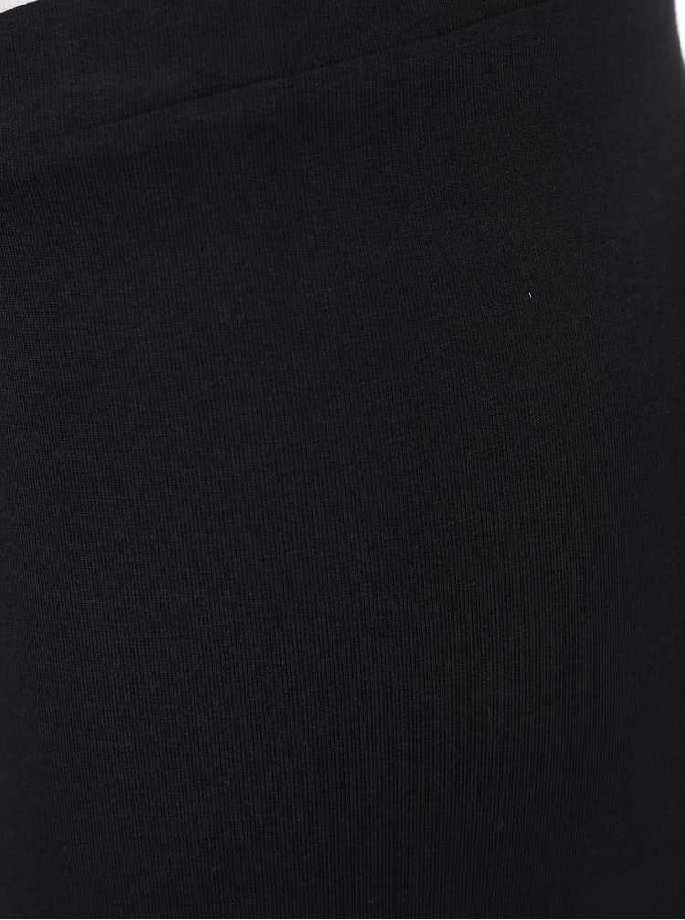 Černé legíny s potiskem adidas Originals
