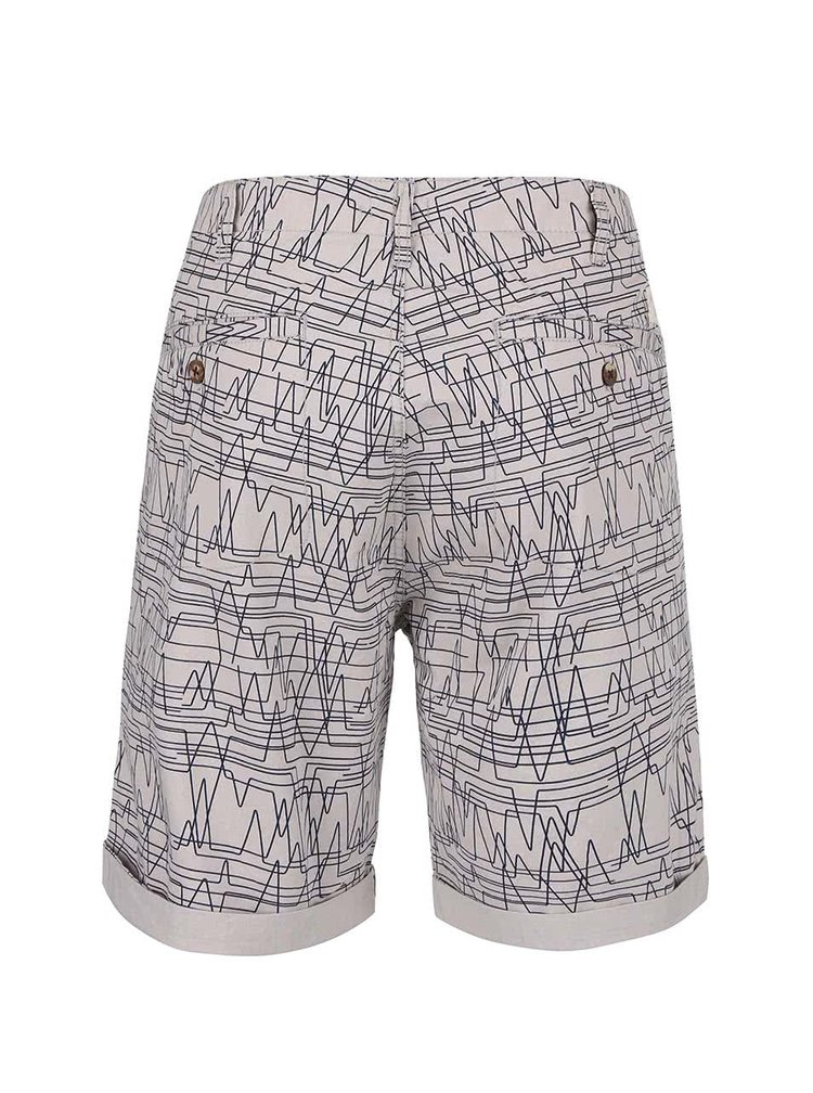 Pantaloni scurți Bellfield Hesett gri cu model
