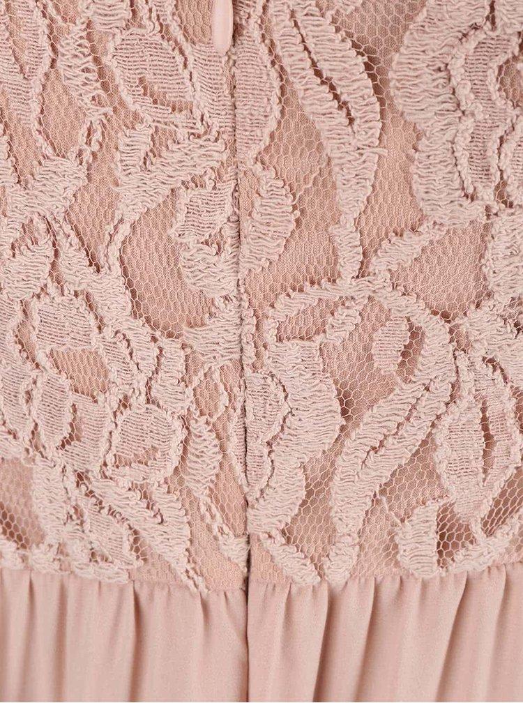 Rochie maxi ONLY Lagoas roz pal