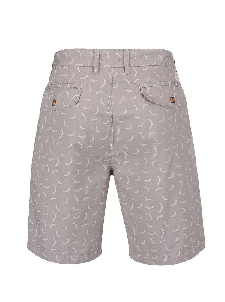 Pantaloni scurți gri Bellfield Ridgewell cu model