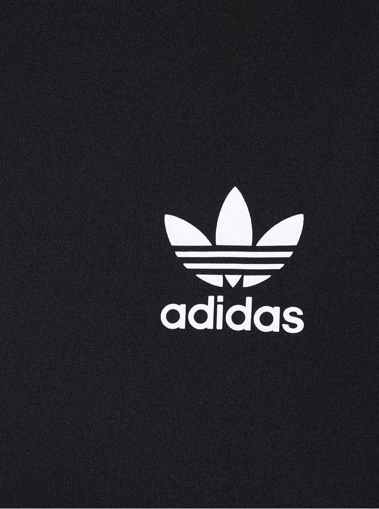 Černý dámský sportovní top adidas Originals