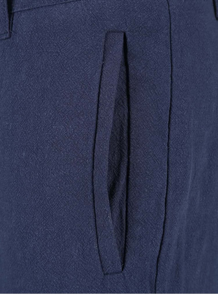 Tmavě modré kraťasy Bellfield Foxton