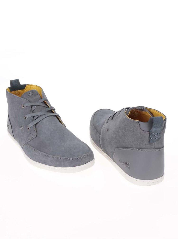 Pantofi sport din piele Boxfresh Symmons gri