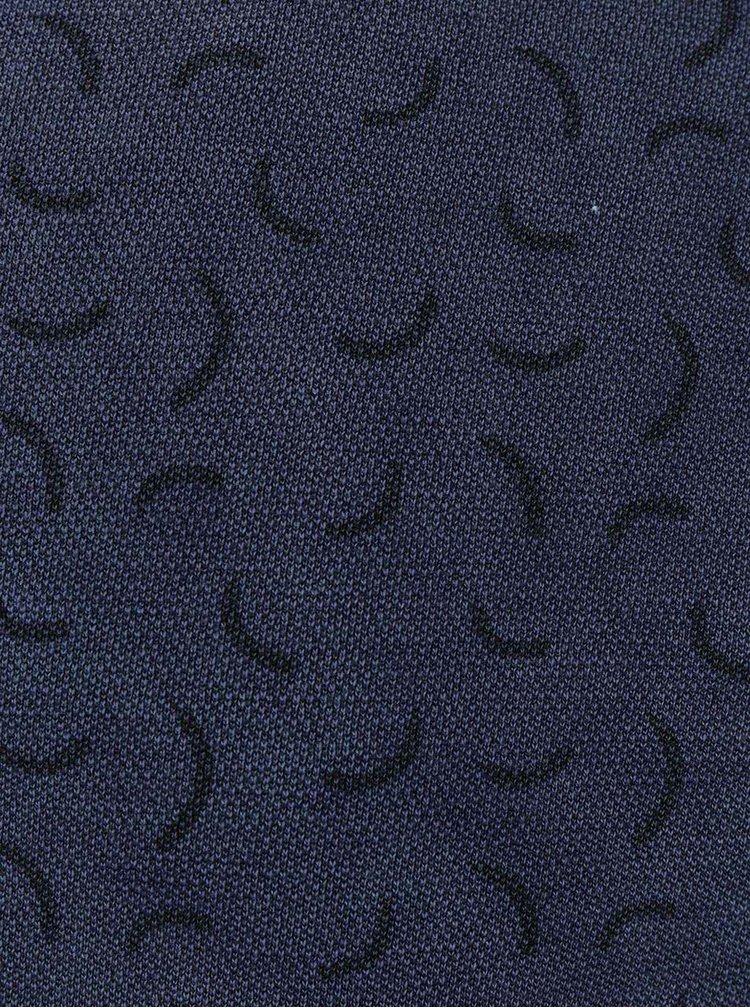Modrá vzorovaná mikina Bellfield Nectar