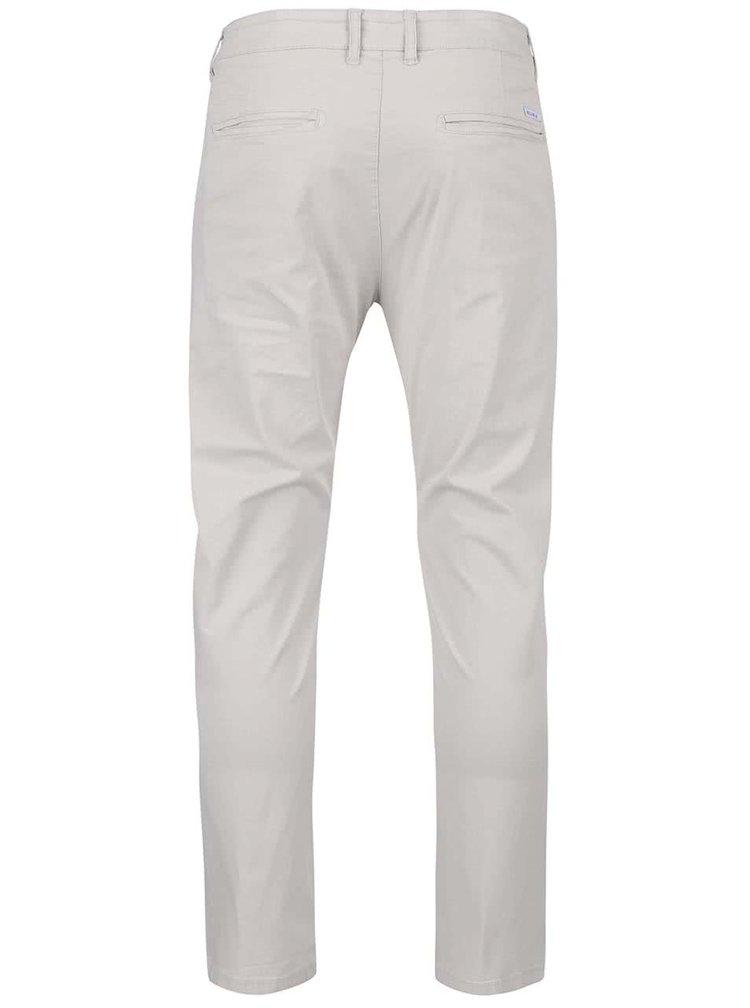 Krémové chino nohavice Bellfield Jezza