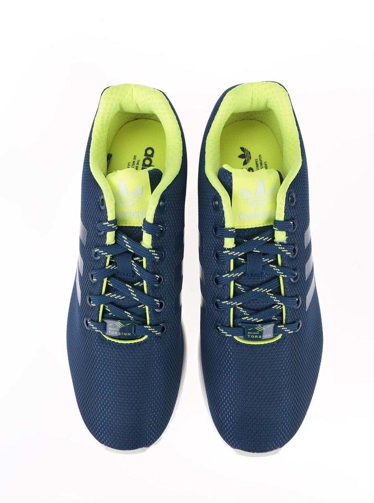 Pantofi sport adidas  albaștri unisex Originals ZX Flux