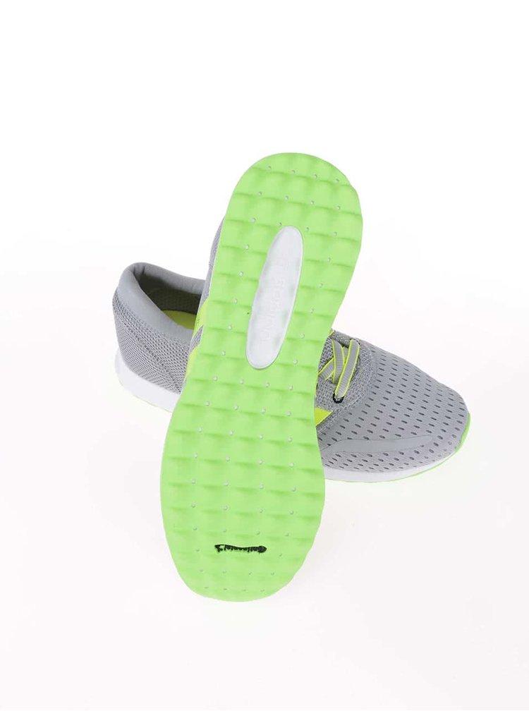 Zeleno-šedé pánské tenisky adidas Originals Los Angeles