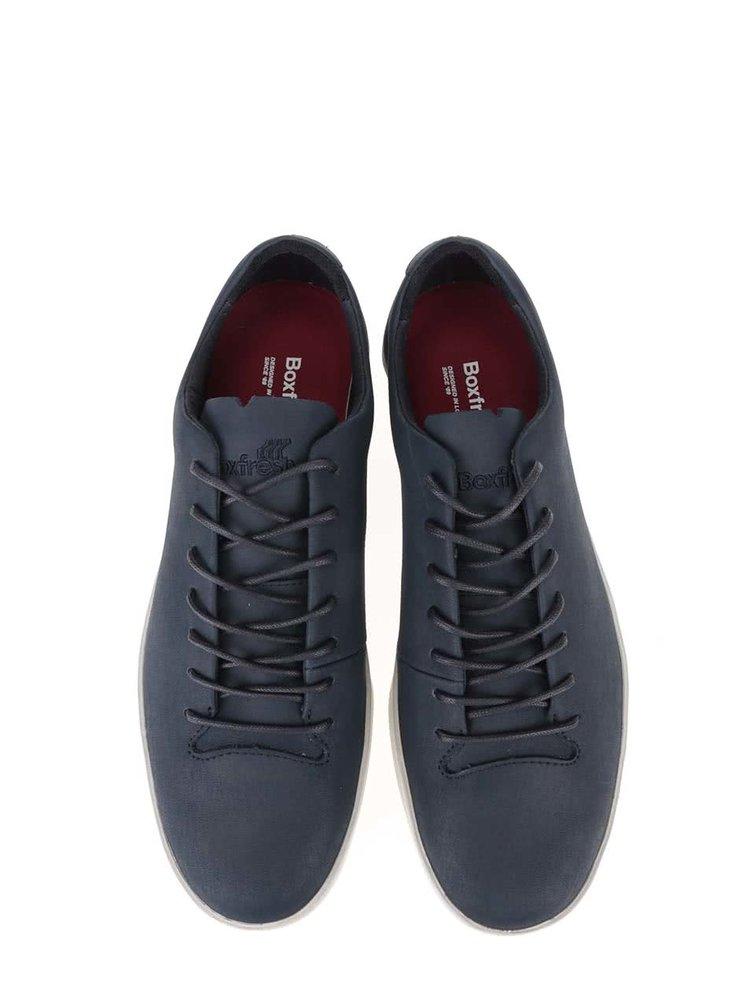 Pantofi sport din piele Boxfresh Bxfh albastru închis