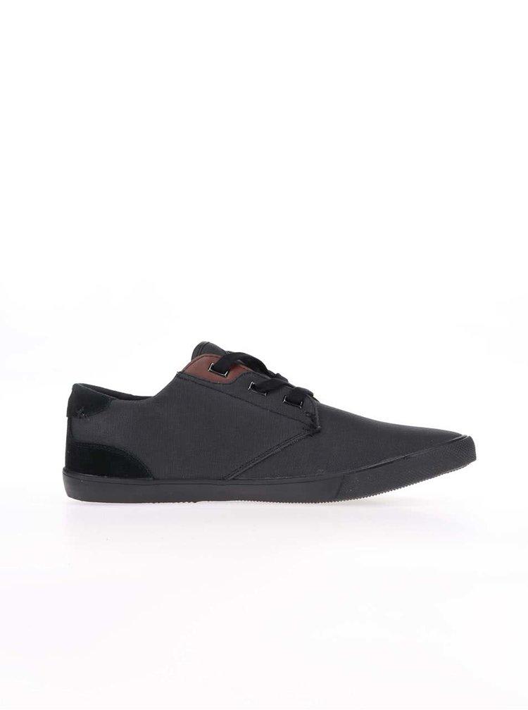Pantofi sport cu detalii din piele Boxfresh Stern negri