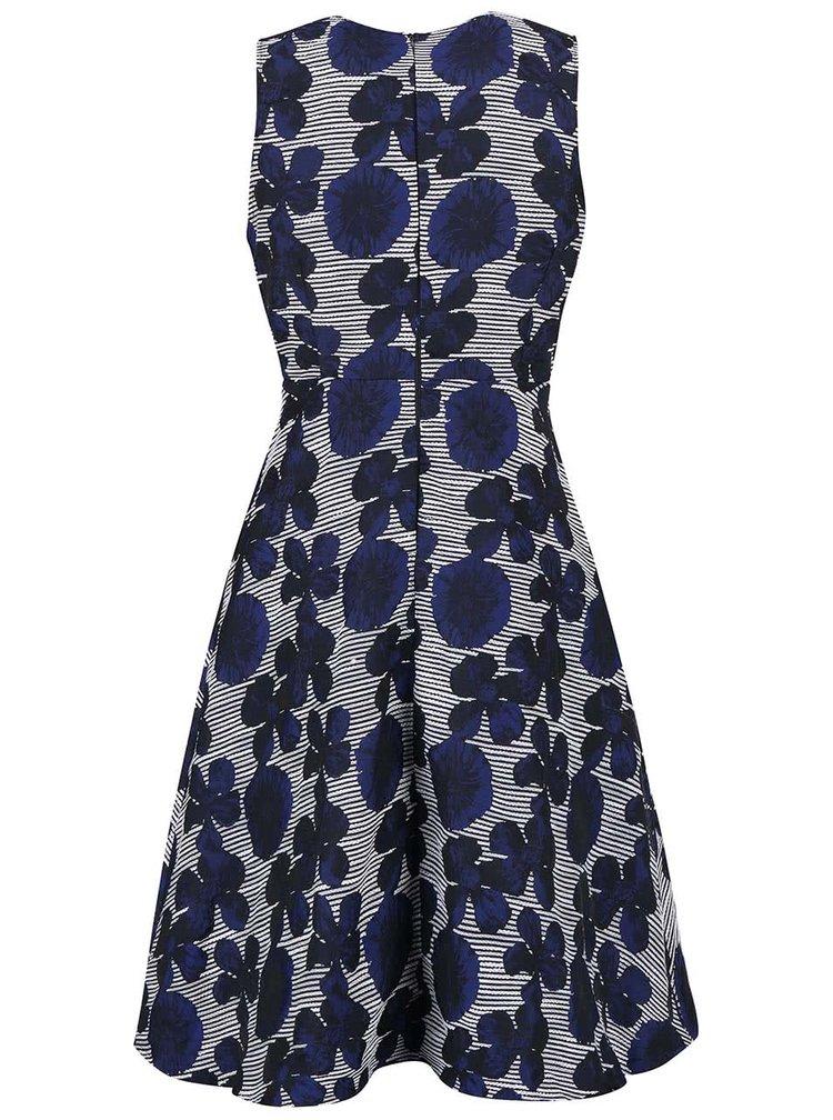 Rochie AX Paris albastră cu model floral
