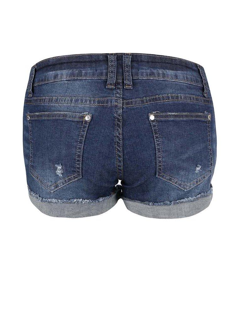 Tmavě modré džínové kraťasy Haily´s Mary