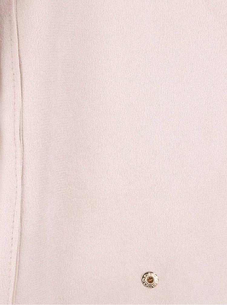 Jacheta crem Haily´s June din piele sintetica